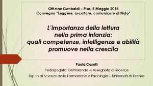Icon of Relazione_PaolaCaselli