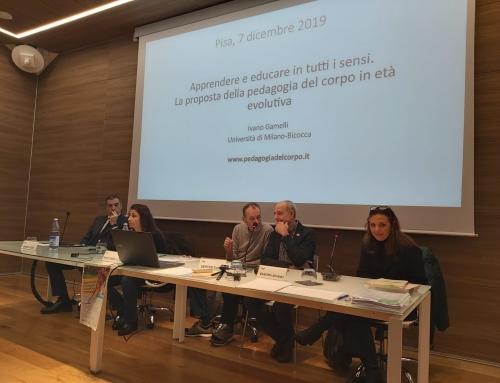 """Grande partecipazione al seminario  """"Apprendere ed educare in tutti i sensi"""""""